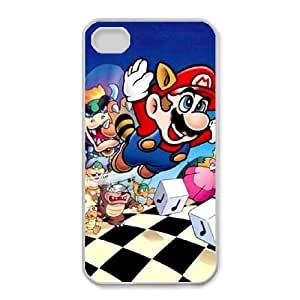 iphone4 4s cell phone cases White Super Mario Bros fashion phone cases GFL2845806