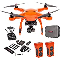 Autel Robotics X-Star 4K Camera, 1.2-Mile HD Live View Drone with 1 Autel Robotics Battery(Li-Po with 4900mAh, 14.8V) and Accessories (Orange)