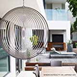 wind mobile canada - Stainless Steel Wind Spinner Circle, Premium, Indoor, Outdoor, Shimmering, Hanging - Marine Grade Stainless Steel. Ideal for Coastal Environments (8 Inch) Australian Made Wind Spinners. Circle