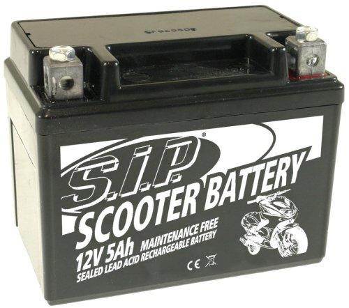batterie 12v 5ah sla4l bs rollerbatterie versiegelt. Black Bedroom Furniture Sets. Home Design Ideas