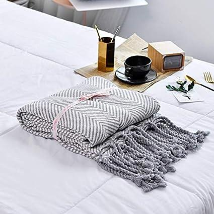 Blanket S-Werthy Las sedas Tejidas Cortinas de Manta Manta Manta sofá Cama Toallas Hotel