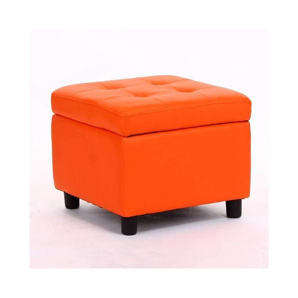 Superb Amazon Com Qqxx Square Tufted Artificial Leather Storage Squirreltailoven Fun Painted Chair Ideas Images Squirreltailovenorg