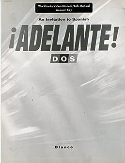 adelante dos answer key vhl 9781600077036 amazon com books rh amazon com 2006 Arctic Cat 400 Manual DOS Game Manuals