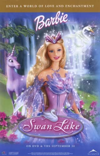 Amazon.com: Movie Posters Barbie of Swan Lake - 11 x 17: Lithographic Prints: Posters & Prints