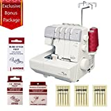 Janome MyLock 634D Mechanical Sewing Machine w/4 Piece Customer Appreciation Bonus by Janome