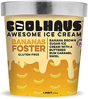 product image for Coolhaus Ice Cream, Bananas Foster, 16 oz (Frozen)