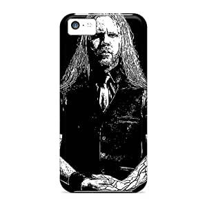 Shock-Absorbing Cell-phone Hard Covers For Iphone 5c (fFB19393GWQc) Allow Personal Design Realistic Loudblast Band Pictures