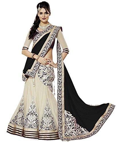 Shopaholic-Womens-Net-Designer-Lehenga-Choli-Free-Size-Multi