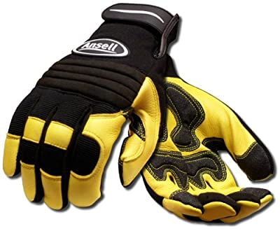Ansell ProjeX 97-977 Heavy Duty Leather Work Glove (Pack of 1 Pair)