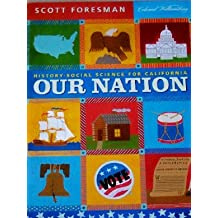 Amazon scott foresman books history social science for california our nation fandeluxe Images