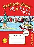 Englisch-Stars - TING-Ausgabe: 4. Schuljahr - Übungsheft: Mit Lösungen