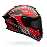 Bell Race Star Motorcycle Helmet Triton Red (Large)