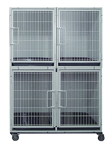 Cove Products 3 or 4 Unit Powdercoated Cage Bank - Bank Unit Cage