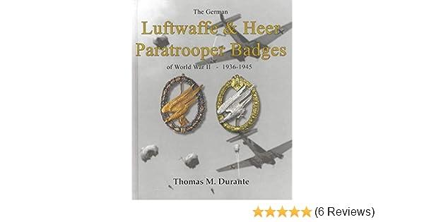 The German Luftwaffe & Heer Paratrooper Badges of World War