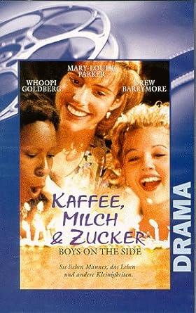 Kaffee Milch Zucker Vhs Whoopi Goldberg Drew Barrymore Mary