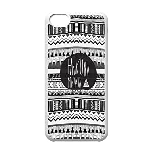 AinsleyRomo Phone Case Hakuna Matata Lions story pattern case For Iphone 5c HKNAT52316
