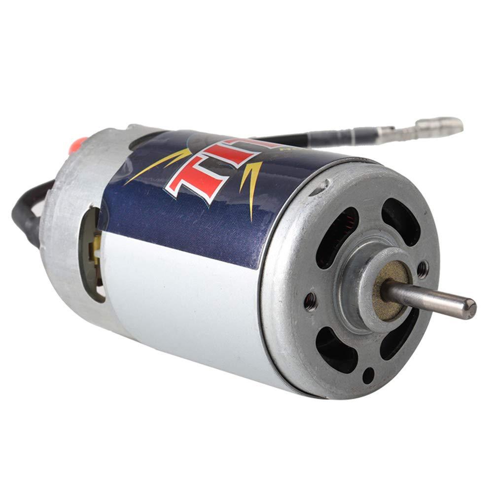 Toyvian Mini Moteur Froid Ventilateur Brosse Moteur Accessoires pour RC Car 3975 3975R 550