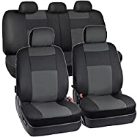 Two Tone Synthetic Leather Seat Covers