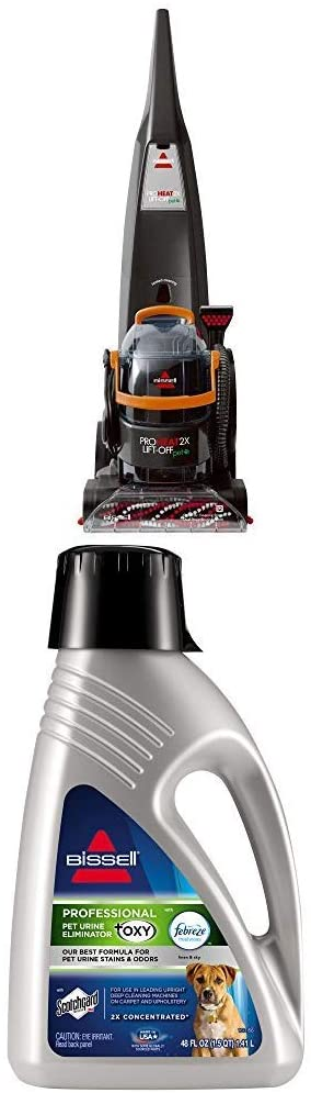 Bissell Proheat Lift Off + Pro Pet Formula