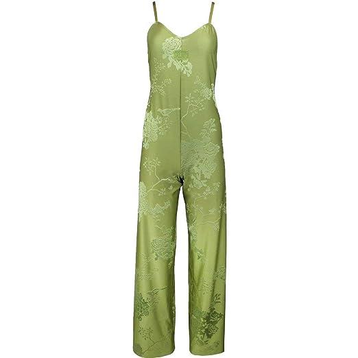 0c35551435 PUMA Women s Fenty Jacquard Jumpsuit Olive Branch Knit Jacquard X-Small