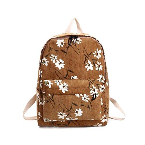 OURBAG - Bolso mochila para mujer, amarillo (Amarillo) - OURBAGwolzende1081 amarillo