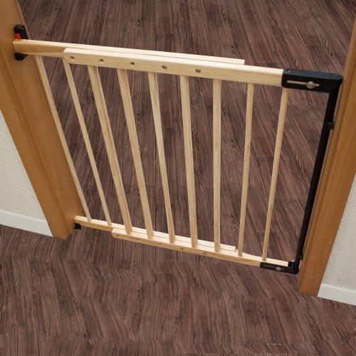 0e8eaf97270f5 TecTake Barrera de seguridad para puertas y escaleras para niños perros  (73-118cm)  Amazon.es  Bebé