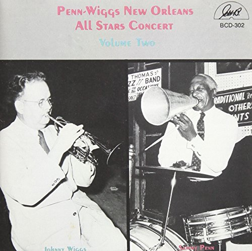 Penn-Wiggs New Orleans All Star Concert, Vol. 2 by Ghb Records