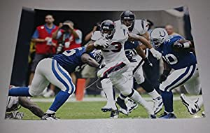 Arian Foster HOUSTON TEXANS Signed 11x17 Photograph in Mint Condition COA PROOF