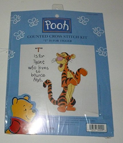 (T is for Tigger Counted Cross Stitch Kit)
