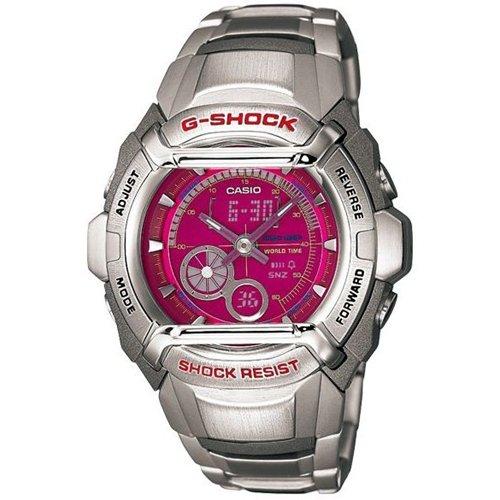 G-Shock Ana-digi World Time Pink Dial Men's watch #G-500FD-4A, Watch Central