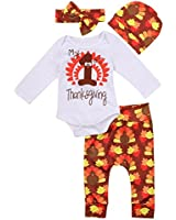 Younger Tree Baby Boys Girls 3pcs Long Sleeve...