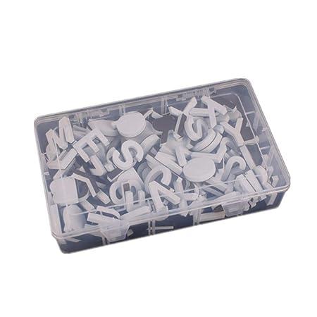 JK 124 piezas letras magnéticas para nevera, juego de regalo con ...