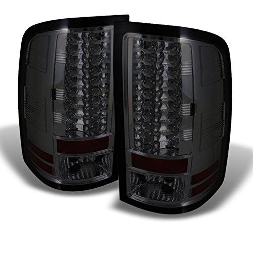 - For GMC Sierra Denali 1500 2500 3500 Pickup Truck Rear LED Tail Lights Signal Brake Lamps Smoked