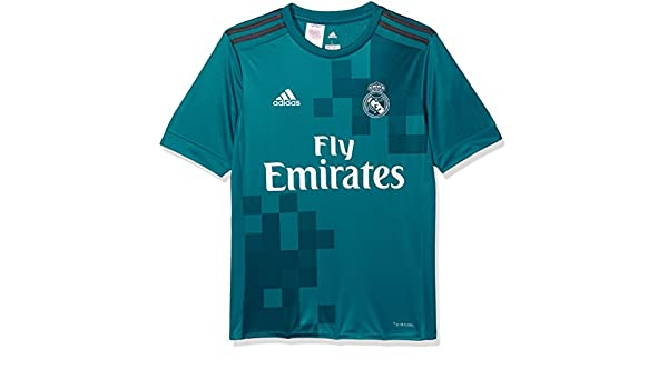 Amazon.com : adidas 2017-2018 Real Madrid Third Shirt (Kids) : Sports & Outdoors