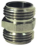 Dixon RA777 3/4'' GHT Male Adapter x 3/4'' Male GHT, 0.75'' ID, 303 Stainless Steel