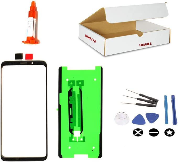 Lens for Samsung Galaxy S8 with Glue Card Glass Only