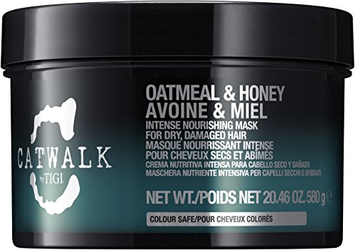 (TIGI Catwalk Oatmeal and Honey Intense Nourishing Mask for Unisex, 20.46 Ounce)