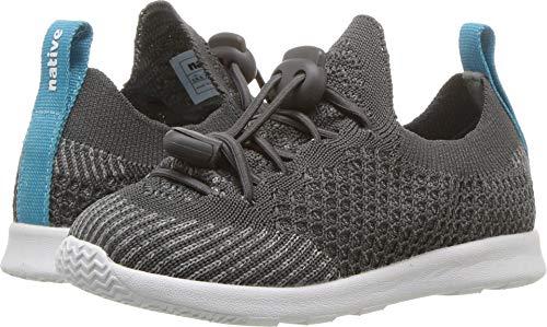 Native Kids Shoes Unisex AP Mercury Liteknit (Toddler/Little Kid) Dublin Grey/Shell White 1 9.5 M US Toddler M