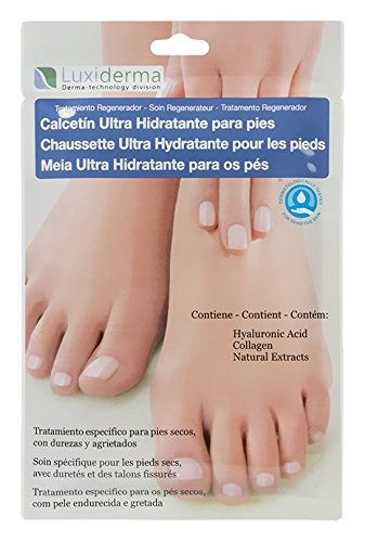 Luxiderma COS 410 Calcetín ultra hidratante - 2 calcetines: Amazon.es: Belleza