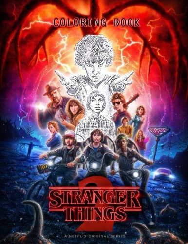 Stranger Things Coloring Book