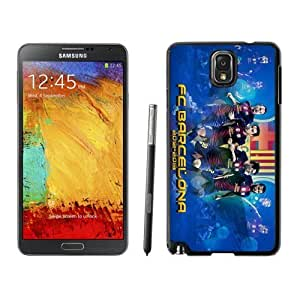 Personality customization DIY Galaxy Note 3 Case Design with Fc Barcelona 3 Black Phone Case for Samsung Galaxy Note 3 III N900 N9005