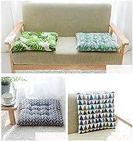 Juego de 4 Cojines para Asiento, 38 x 38 cm, Cojines para sillas de jardín, Cojines para Asiento, jardín, balcón o terraza, F, Platz: Amazon.es: Hogar
