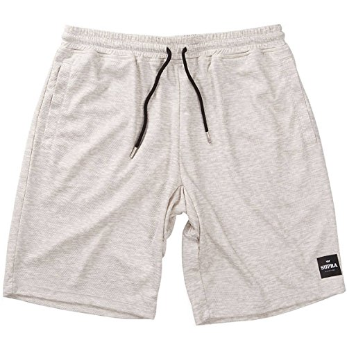 Supra Men's Rebound Jersey Shorts,Large,Oatmeal ()