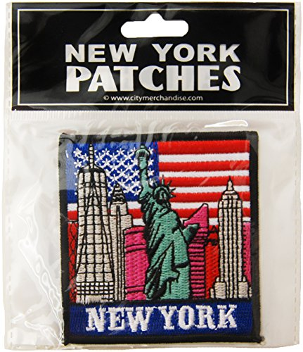 USA Company Patch, New York Skyline