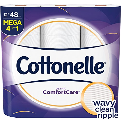 Cottonelle Ultra ComfortCare Toilet Paper - 12 Mega Rolls