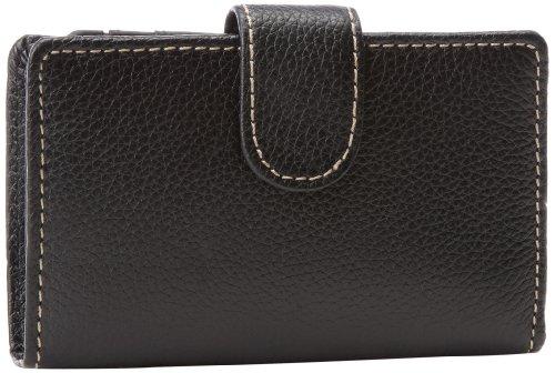 - Mundi Rio Leather Frame Index Wallet,Black,one size