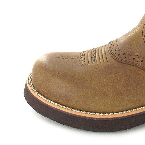 Twisted X Boots BARN BURNER 1716 Saddle Blue/ Herren Westernreitstiefel Braun Blau Saddle Blue