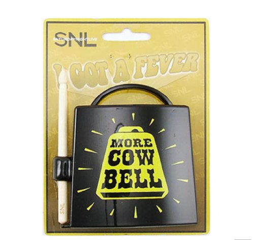 SNL TV Series MORE COWBELL Metal Licensed BELT BUCKLE - Metal Licensed Belt Buckle