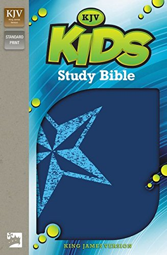 KJV, Kids Study Bible, Imitation Leather, Blue