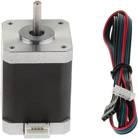 H HILABEE Accesorio De Impresora 3D Motor Paso A Paso Nema 42 1.8 ...